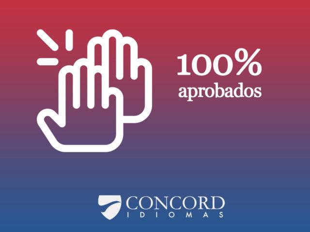 100% alumnos han aprobado exámenes oficiales de inglés y frandés