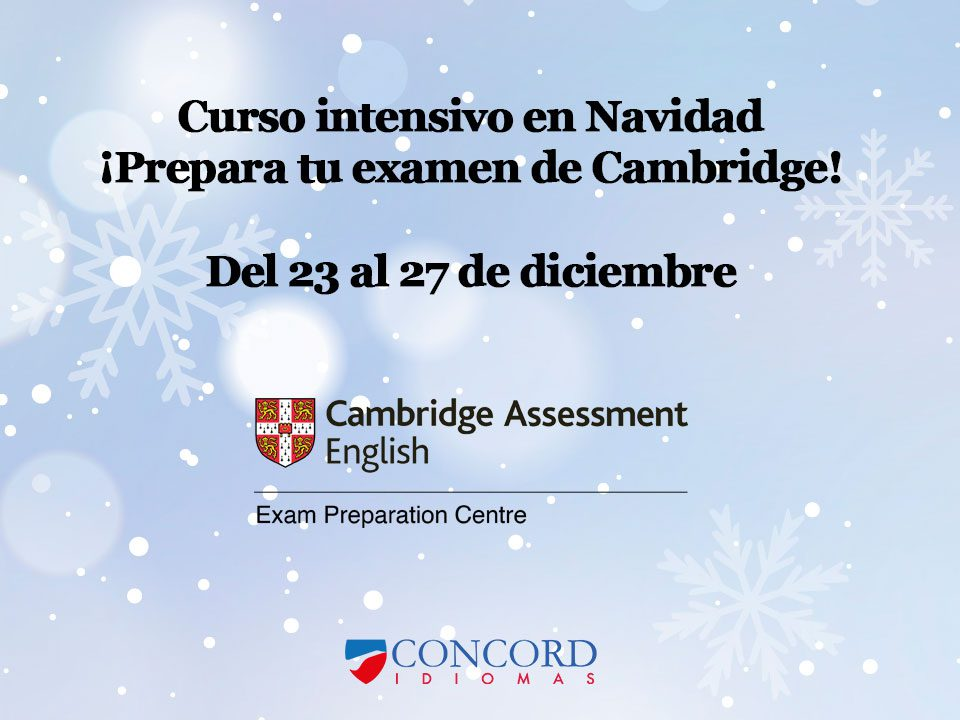 Curso de inglés intensivo examen de Cambridge