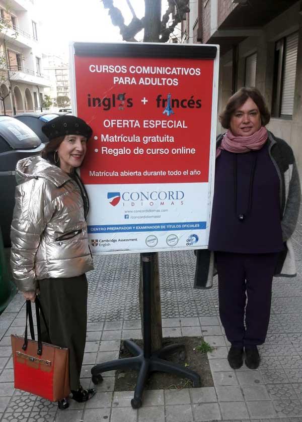 Idoia Salcedo, directora de Concord Idiomas